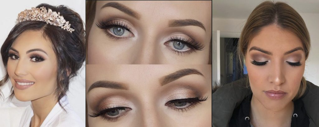 Soft Glam wedding makeup ideas
