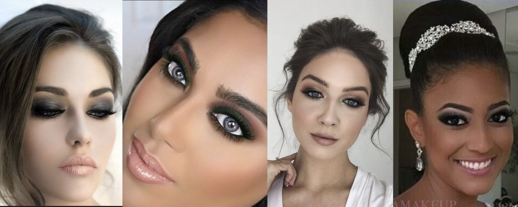 smokey eye wedding makeup ideas